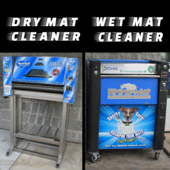 Dry and Wet Mat Cleaners black